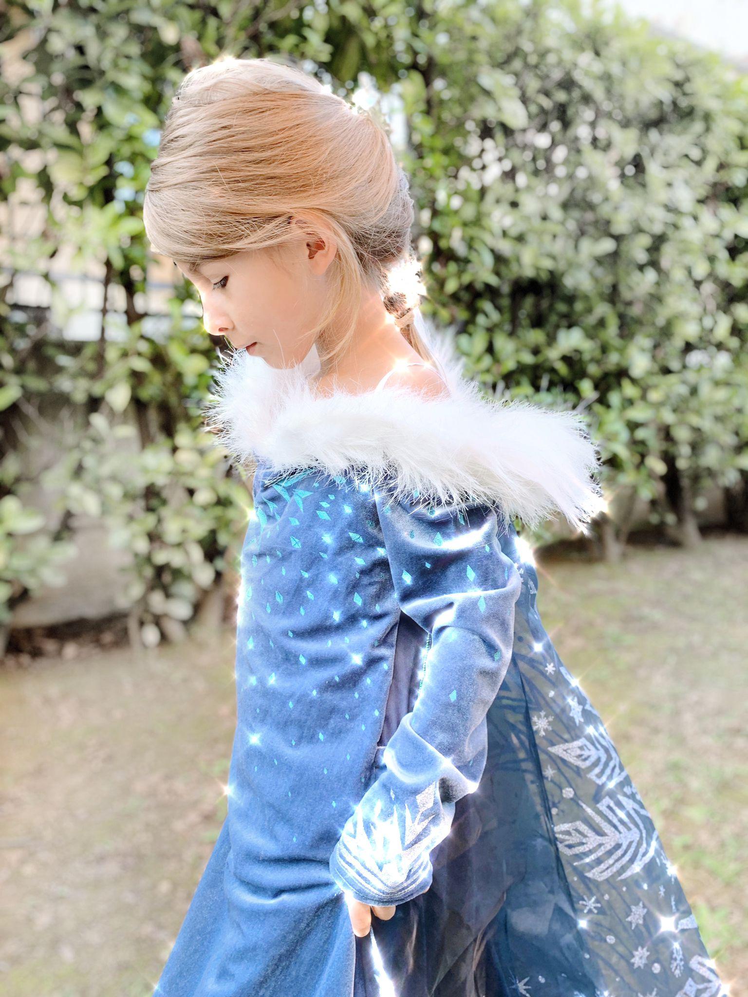 vestito carnevale frozen