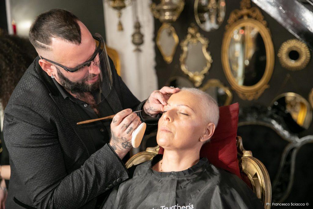 orazio tomarchio progetto cancro makeup