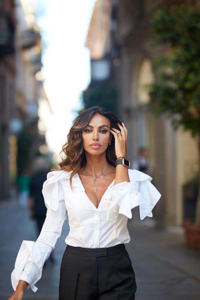 DAMIANI - Madalina Ghenea in Damiani Cover Watch