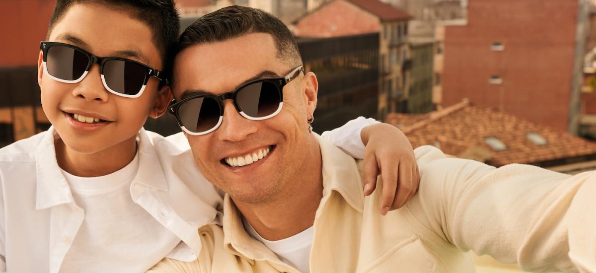 cristiano ronaldo occhiali
