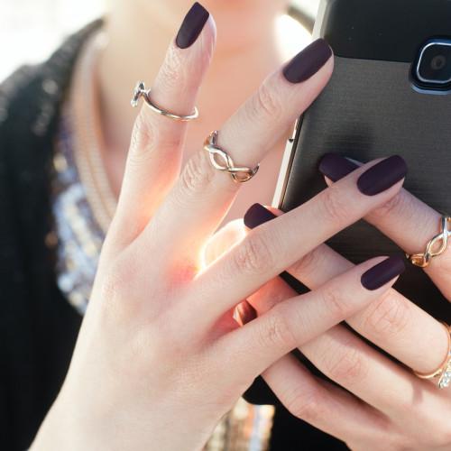 unghie perfette con smalto semipermanente