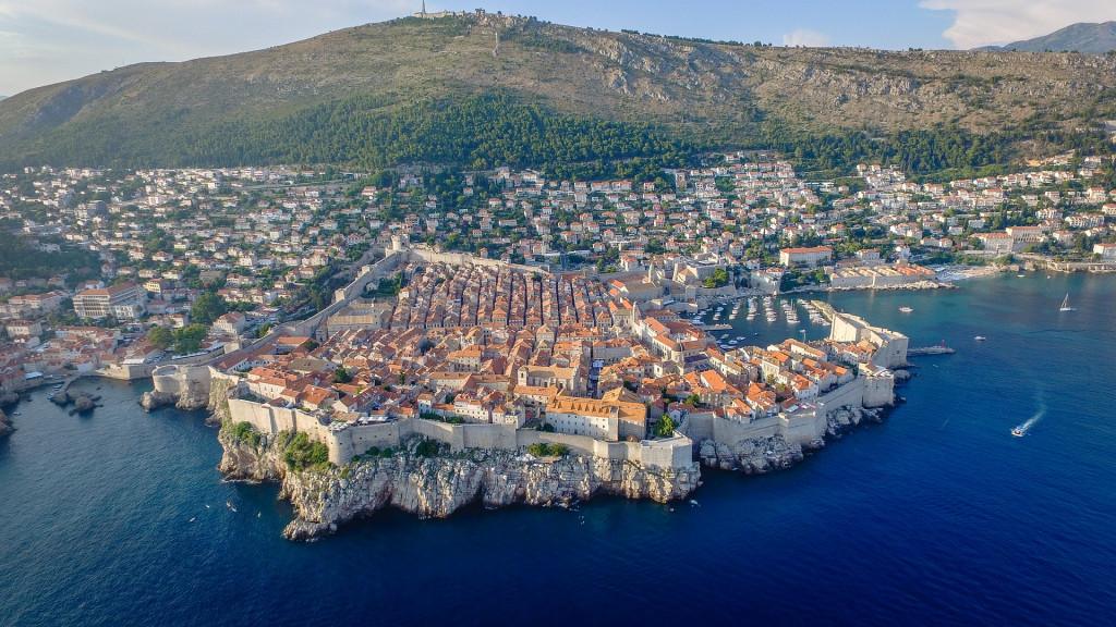 dubrovnik city viaggiare croazia mare adriatico