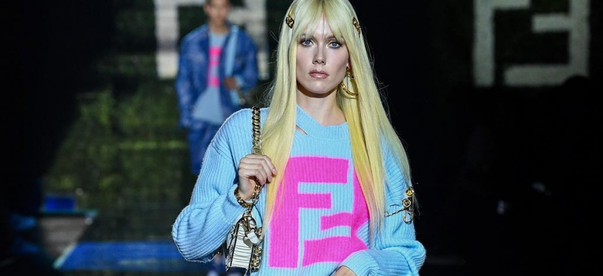 versace by fendi - fendi by versace - foto sfilata (34) - cover