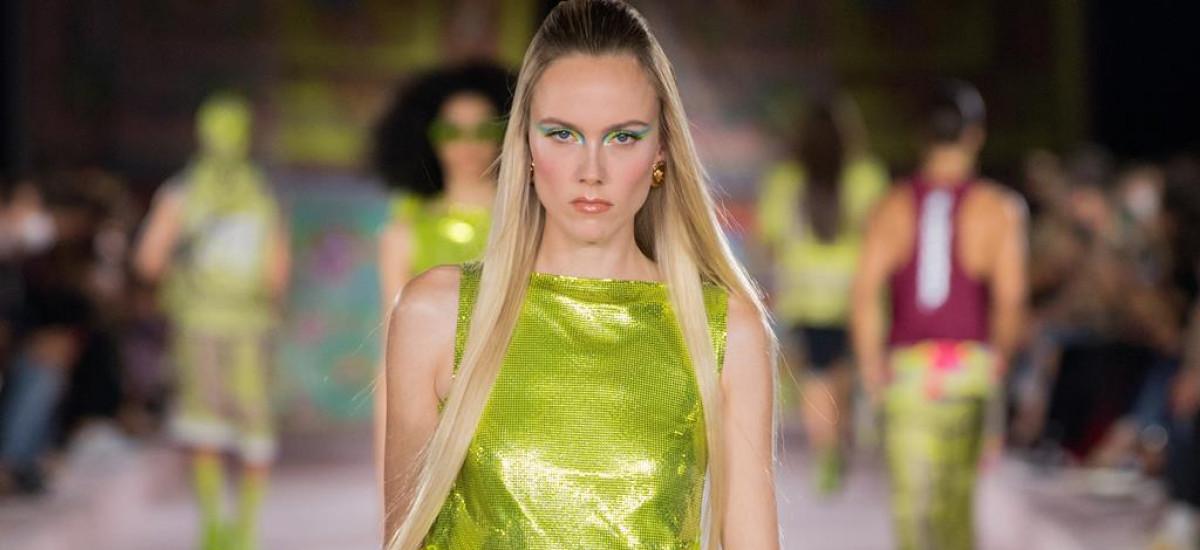 versace donna primavera-estate 2022 milano fashion week