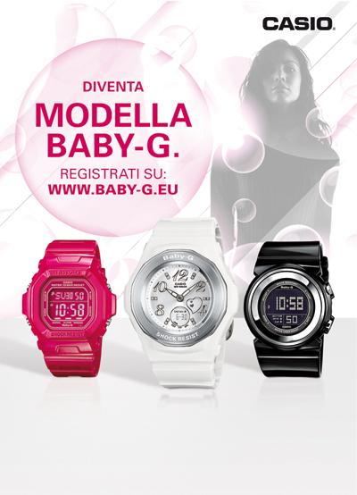 Diventa Modella Baby-G