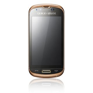 Smartphone Armani-Samsung