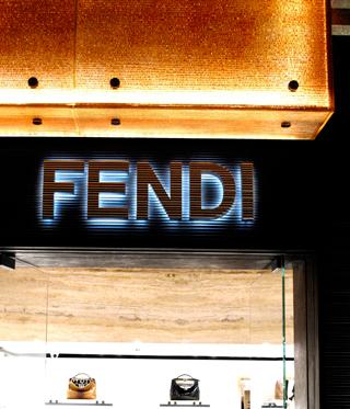 Boutique Fendi a Casablanca
