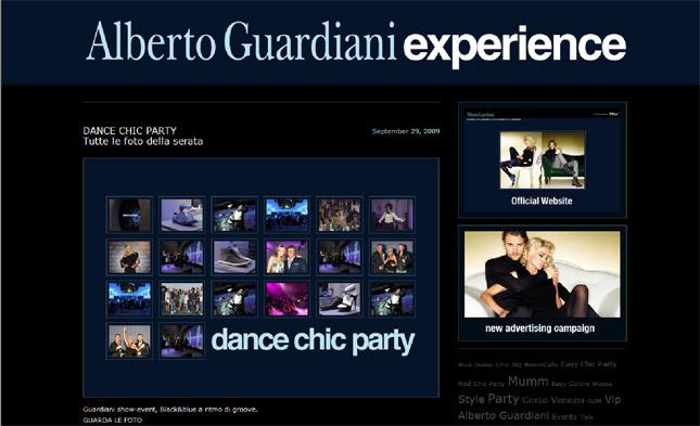 Alberto Guardiani Blog Experience