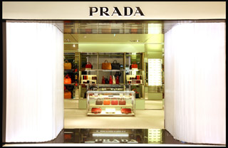 Boutique Prada a Parigi da Printemps