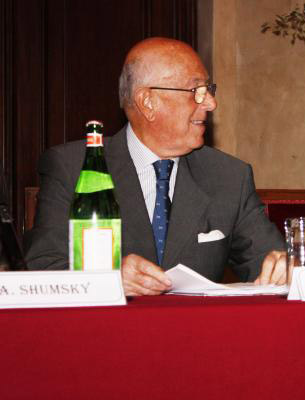 Cav. Mario Boselli, Presidente Camera Moda