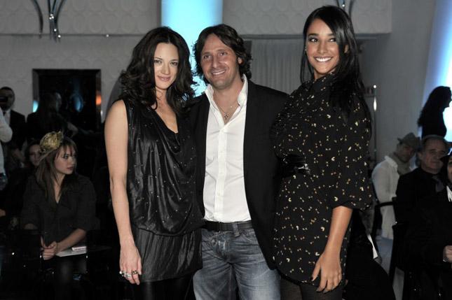 Asia Argento, Alessandro Esposito e Juliana Moreira