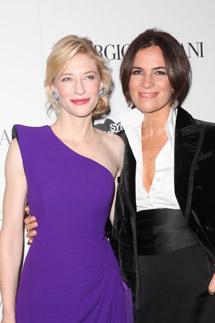 Cate Blanchett e Roberta Armani