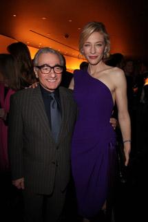 Cate Blanchett e Martin Scorsese