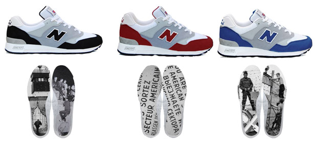 Berlin Wall Pack 2009 by New Balance
