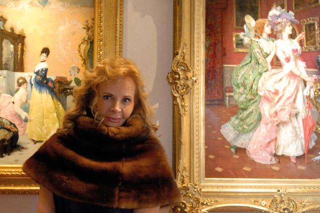 Anna Molinari inaugura il MoMAnt a Capri