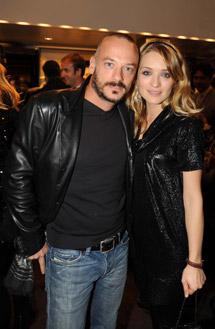 Filippo Nigro e Carolina Crescentini
