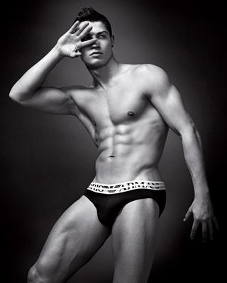 Cristiano Ronaldo per Emporio Armani Underwear e Armani Jeans