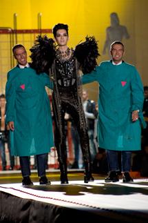 Bill Kaulitz dei Tokyo Hotel e Dean & Dan Caten di Dsquared2