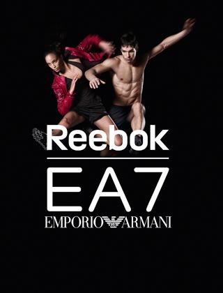 Collaborazione tra Reebok e Armani
