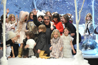 Roberto Cavalli alla sfilata Angels&Devils