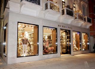 Boutique Burberry a Venezia