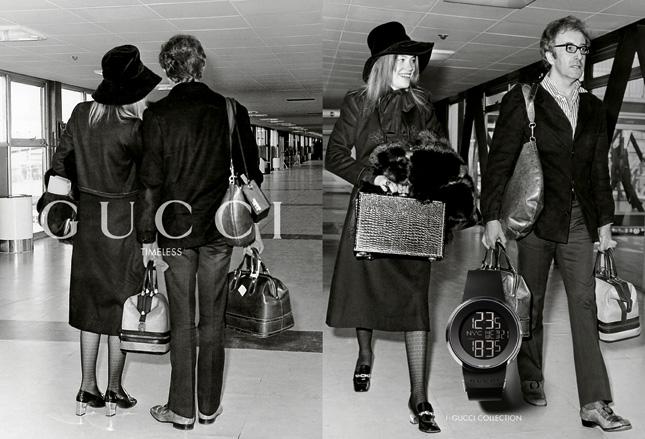 Campagna Gucci Timeless