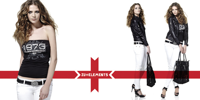 Campagna ADV Zu Elements Donna