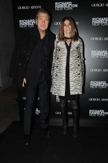 Mario Testino e Carine Roitfeld