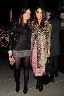 Francesca Versace e Margherita Missoni