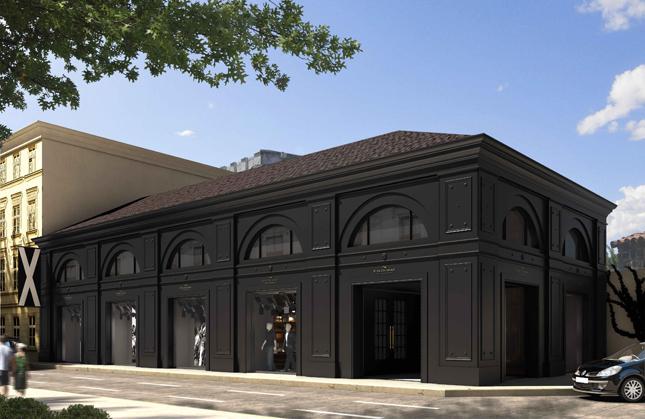 Flagship Store Etiqueta Negra in Via Tocqueville