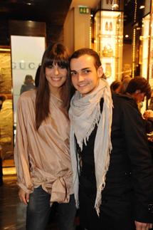 Bianca Guaccero e Valerio Scanu