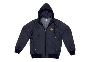 Denim Flock Jacket, Caddy Collection by adidas Originals