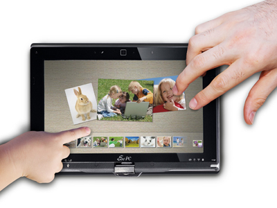 Netbook tablet multitouch firmato ASUS
