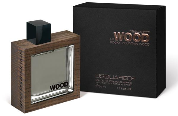 Vittoria al quadrato per Dsquared con il profumo He Wood Rocky Mountain Wood