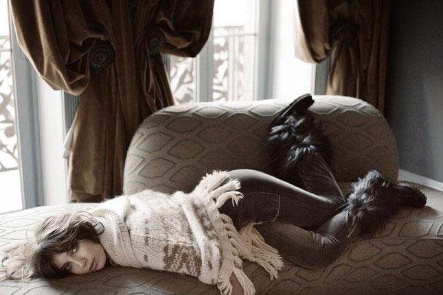 Helena Christensen e Daisy Lowe per Odd Molly