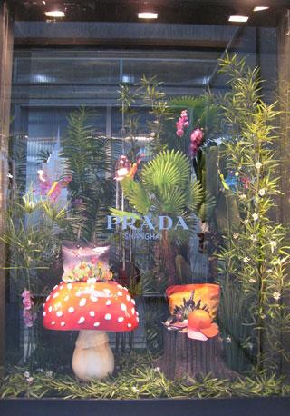 Boutique Prada a Shanghai