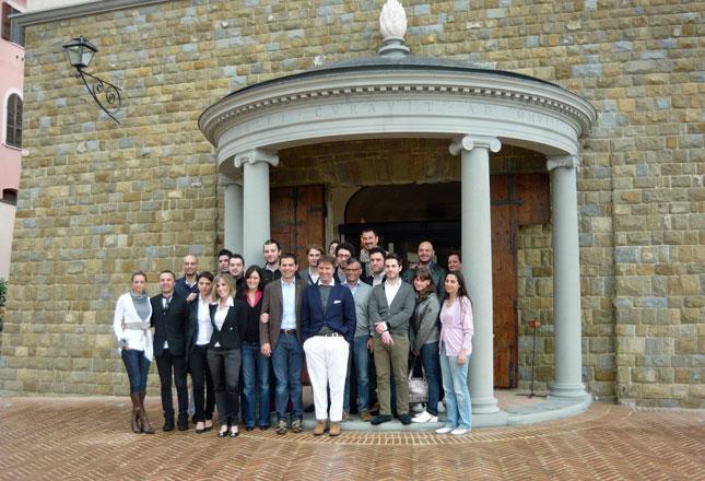 Brunello Cucinelli e i giovani di ANCI