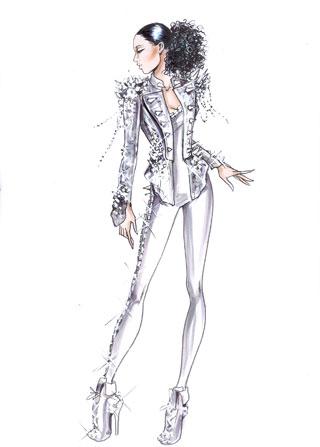 Giorgio Armani per Alicia Keys