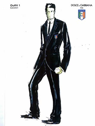 Dolce & Gabbana per la Nazionale