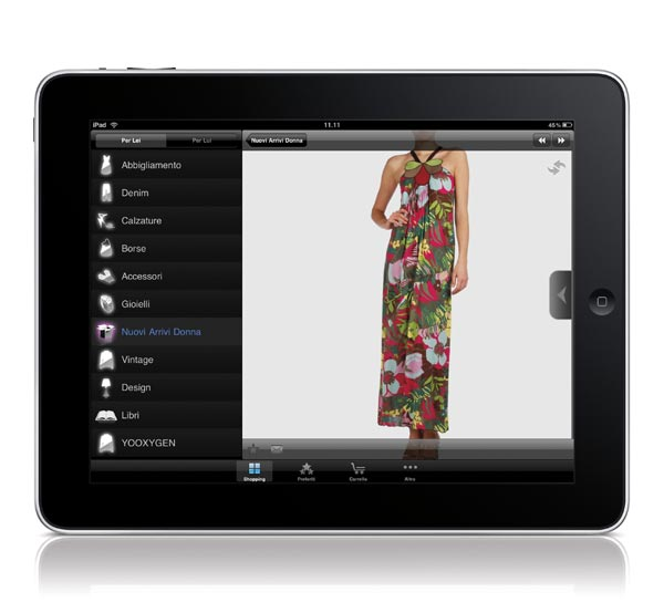 YOOX.COM for iPad