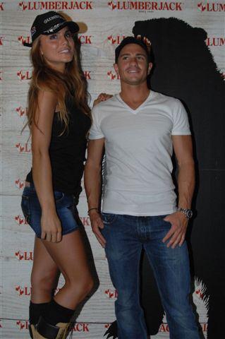 Nina Senicar e Randy De Puniet