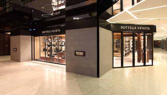 Boutique Bottega Veneta a Chengdu (Cina)