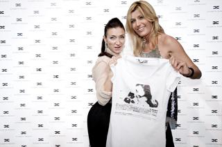 Elisabetta Franchi e Raffaella Zardo