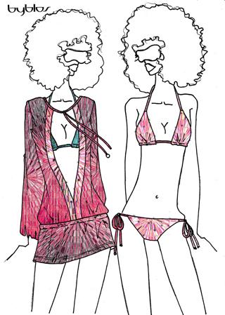 Byblos e Lormar-Pielle per il Beachwear e Underwear