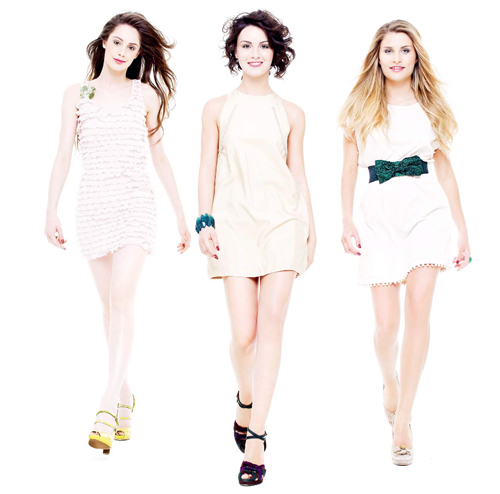 Le tre vincitrici del concorso