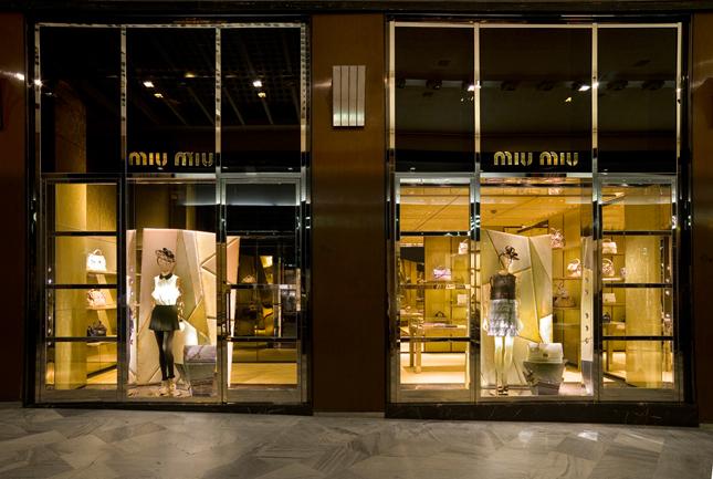 Boutique Miu Miu a Bologna