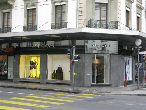 Boutique Versace a Ginevra