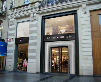 Store Tommy Hilfiger a Parigi