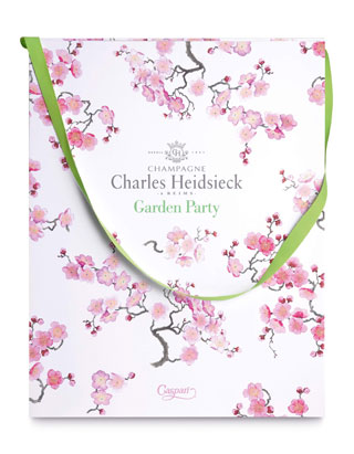 Charles Heidsieck firma lo Champagne Garden Party