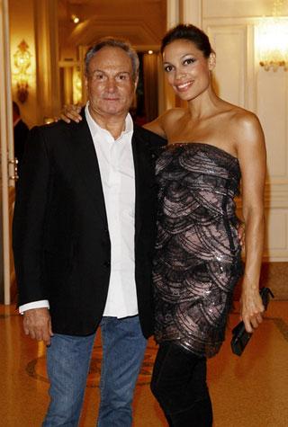 Rocco Barocco e Rosario Dawson
